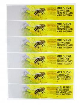 A4 Etikette VSI gelb