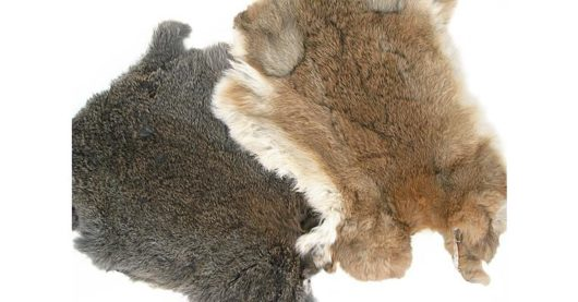 Kaninchenfelle